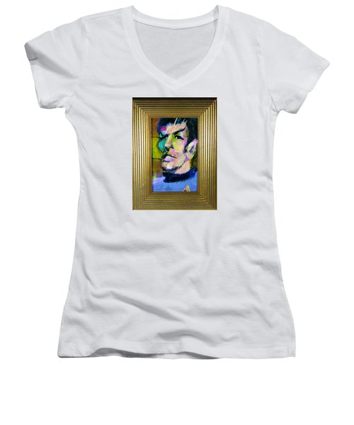 Spock Women's V-Neck T-Shirt