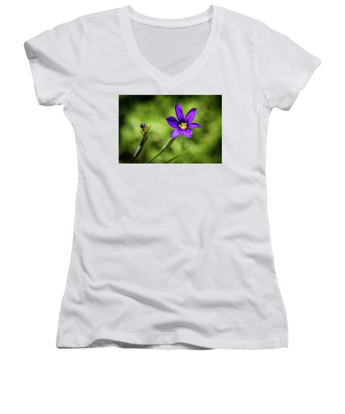 Spring Blooms Women's V-Neck