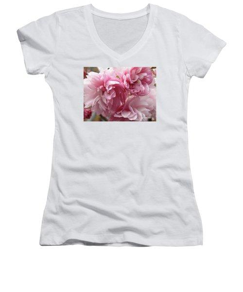 Spring Blossoms #1 Women's V-Neck T-Shirt