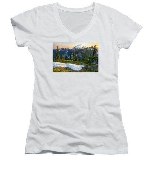 Spring Melt Women's V-Neck T-Shirt