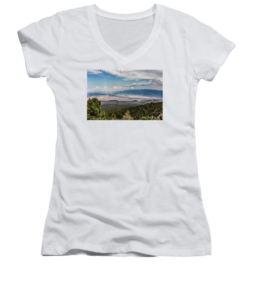 Spring Mountains Desert View Women's V-Neck