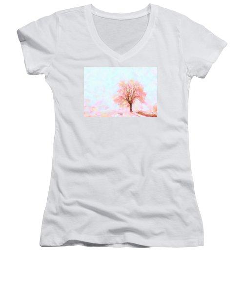Springtime Women's V-Neck