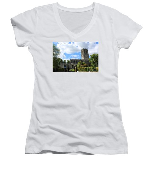 St. Mary's,tickhill Women's V-Neck T-Shirt