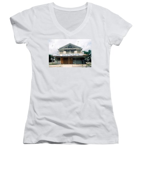 St Roch Market Women's V-Neck T-Shirt