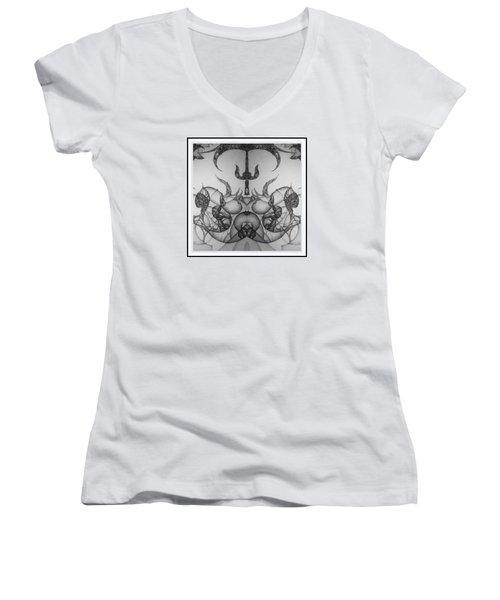 Stage Three Women's V-Neck T-Shirt (Junior Cut) by Jack Dillhunt