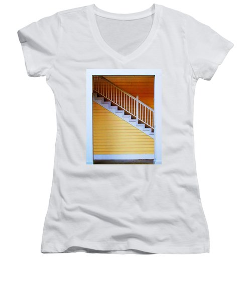 Stairs Women's V-Neck