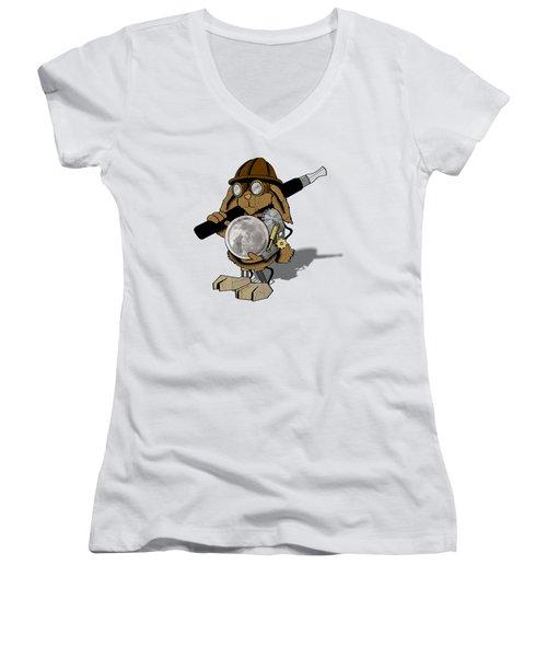 Steam Rabbit Women's V-Neck T-Shirt