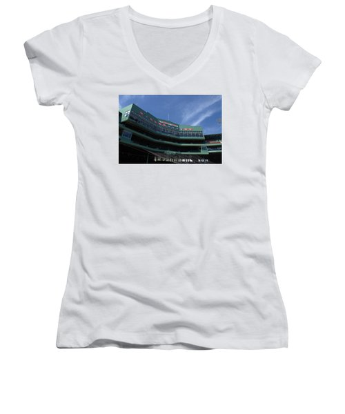 Steeped In History Women's V-Neck (Athletic Fit)