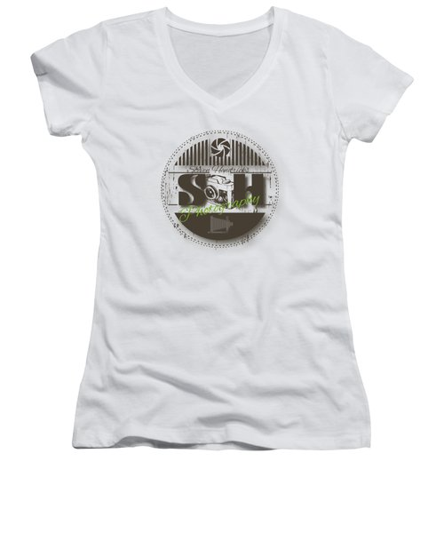 Steven Hendricks Photography Women's V-Neck (Athletic Fit)