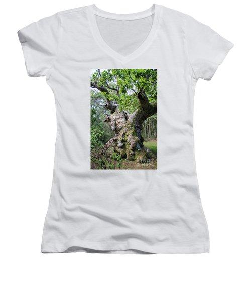 Still Alive Women's V-Neck T-Shirt (Junior Cut) by Kennerth and Birgitta Kullman