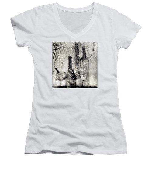 Still Life #384280 Women's V-Neck T-Shirt (Junior Cut) by Andrey Godyaykin