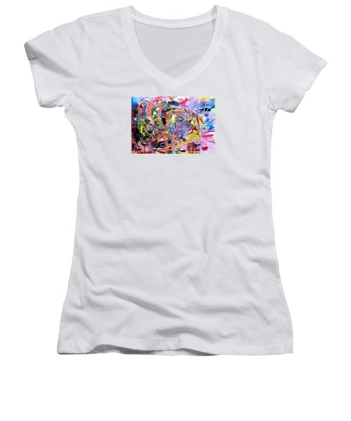 Stimuli Women's V-Neck T-Shirt