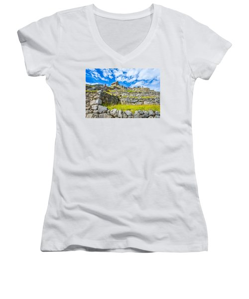 Stone Walls Women's V-Neck