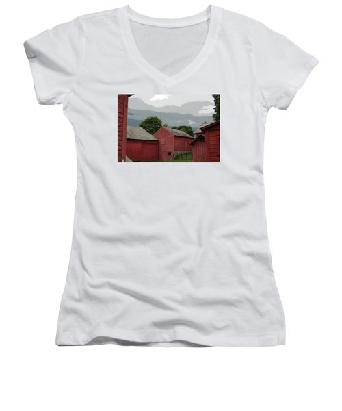 Storm Brewing Women's V-Neck T-Shirt