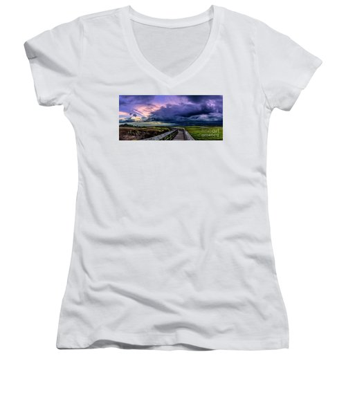 Storm Clouds Women's V-Neck