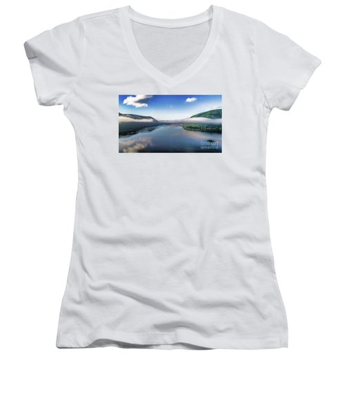 Storm King And The Highlands Women's V-Neck (Athletic Fit)
