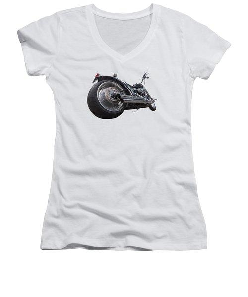 Storming Harley Women's V-Neck T-Shirt (Junior Cut)