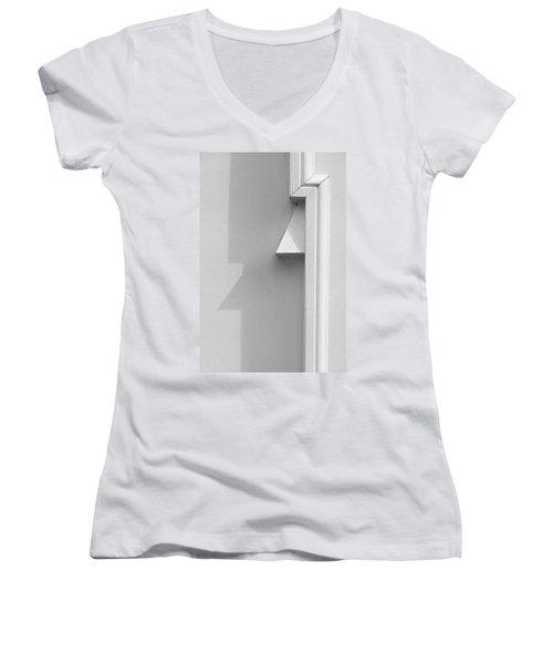 St.petersburg  #7915 Women's V-Neck T-Shirt (Junior Cut) by Andrey Godyaykin
