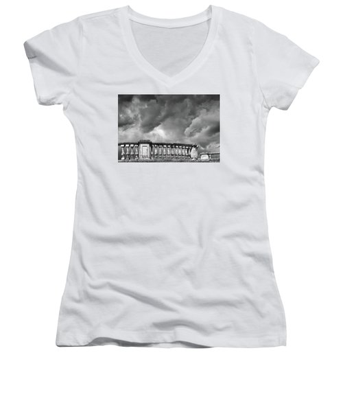 St.petersburg  #9704 Women's V-Neck T-Shirt