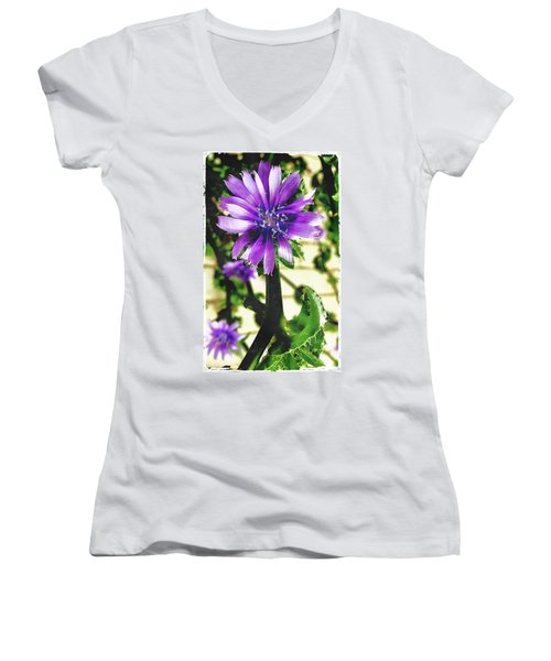 Strange Visitor Women's V-Neck