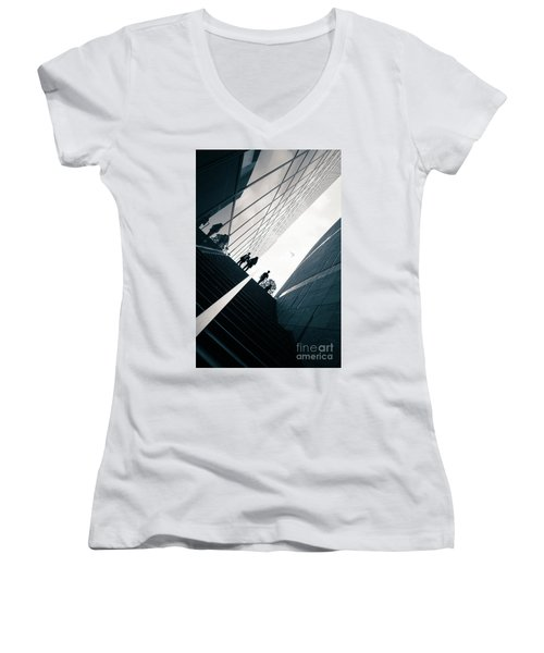 Street Photography Tokyo Women's V-Neck (Athletic Fit)