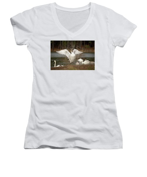 Stretch Your Wings Women's V-Neck