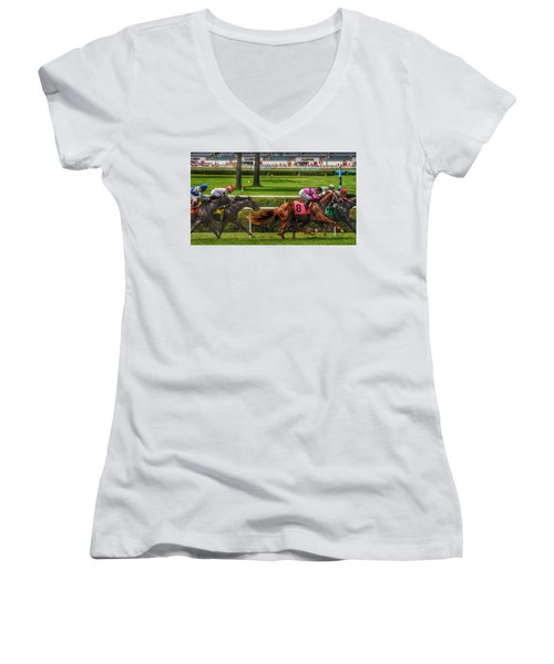 Striving Women's V-Neck (Athletic Fit)