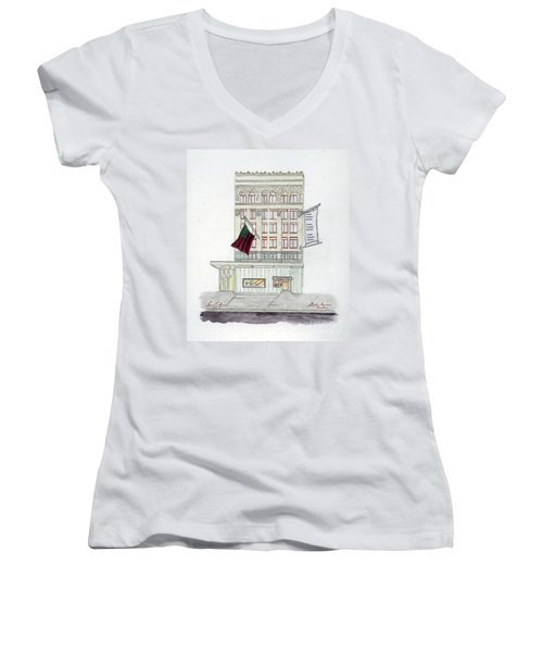 Studio Museum In Harlem Women's V-Neck (Athletic Fit)