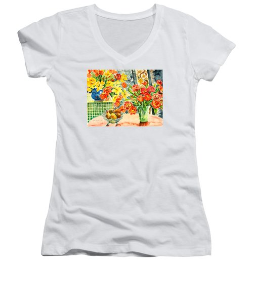 Studio Still Life Women's V-Neck