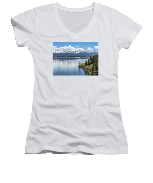 Stunning Colorado Women's V-Neck T-Shirt (Junior Cut) by William Wyckoff