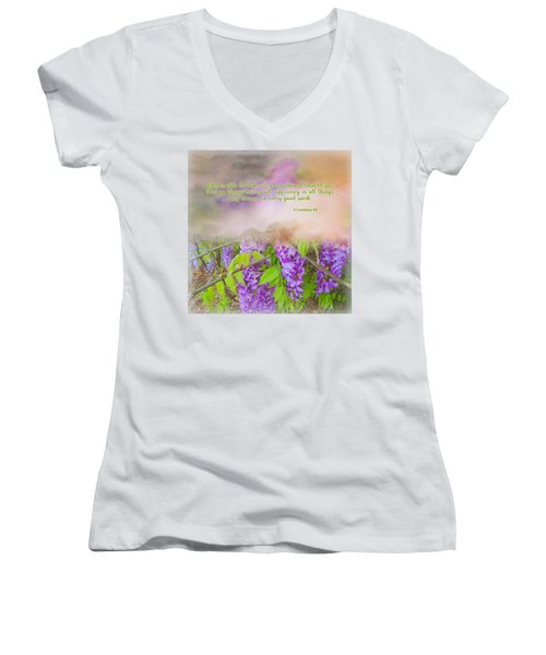 Sufficiency Women's V-Neck T-Shirt