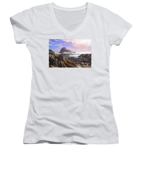 Sugarloaf Rock X Women's V-Neck T-Shirt