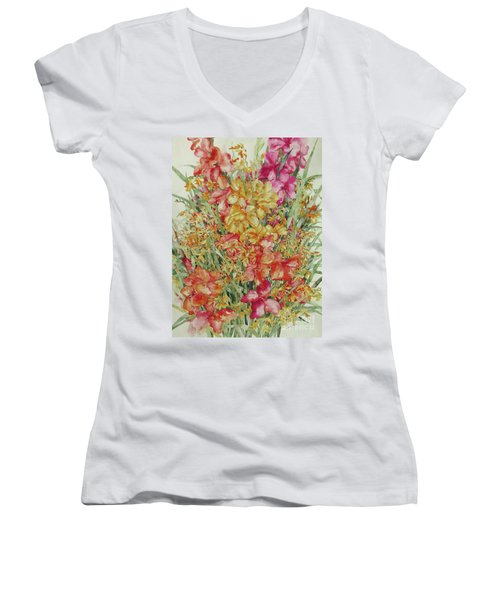Summer Day Women's V-Neck (Athletic Fit)