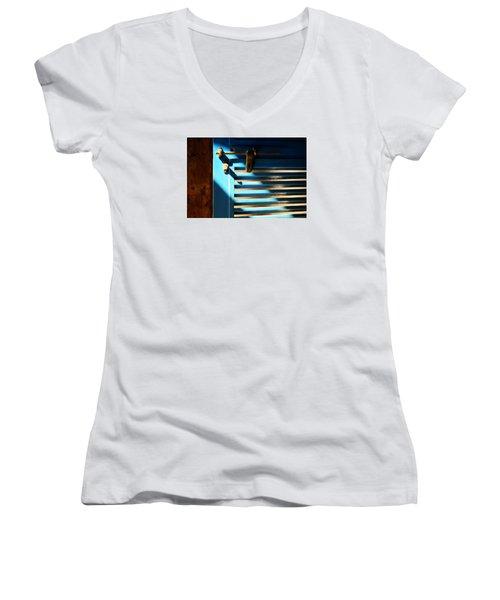 Sun Kissed Women's V-Neck T-Shirt (Junior Cut) by Prakash Ghai