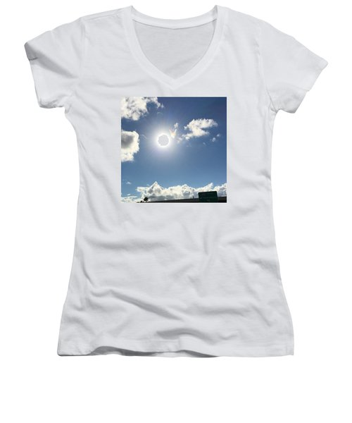 Sun Sky Angel Women's V-Neck