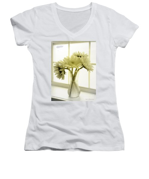 Sunflowers Women's V-Neck