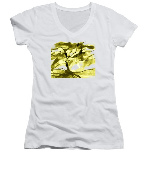 Sunny Day Women's V-Neck (Athletic Fit)