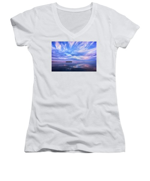 Sunset Awe Women's V-Neck T-Shirt
