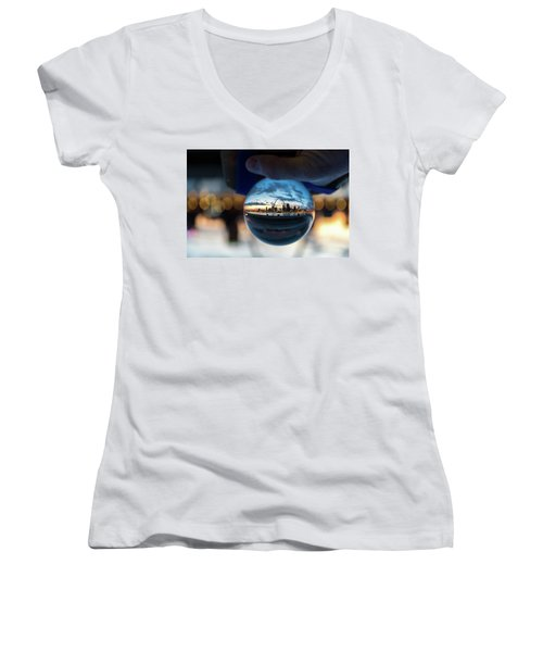 Sunset St. Louis II Women's V-Neck (Athletic Fit)