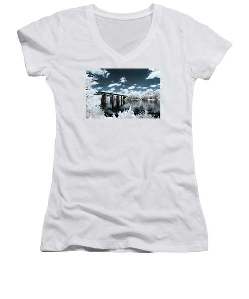 Surreal Crossing Women's V-Neck