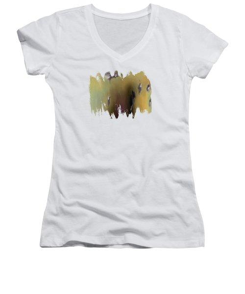 Surreal Turkey Tornado Women's V-Neck T-Shirt
