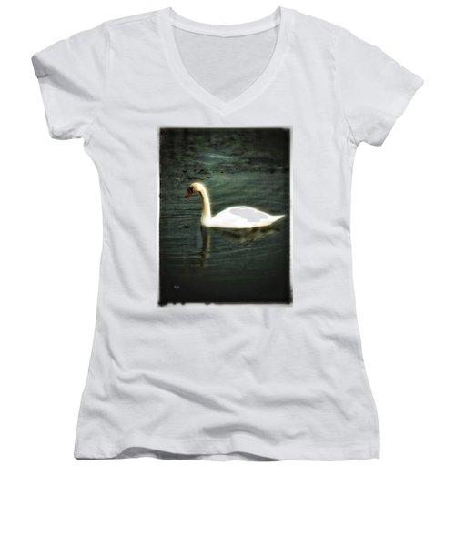 Swan Women's V-Neck