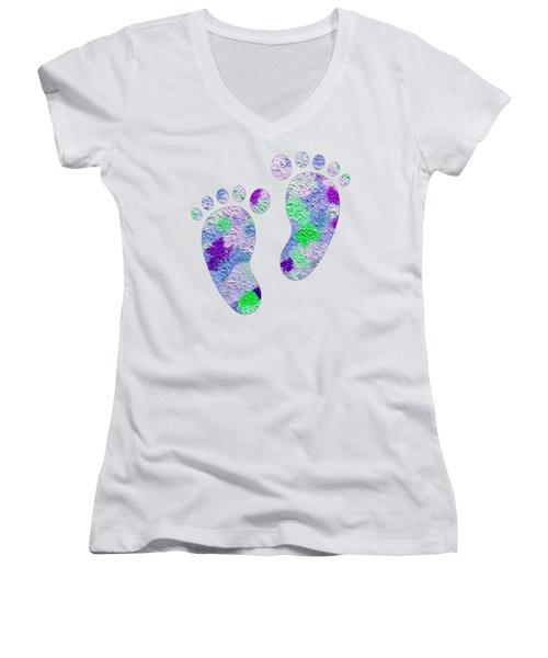 Sweet Feet Women's V-Neck