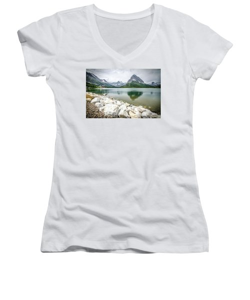 Swiftcurrent Lake Women's V-Neck