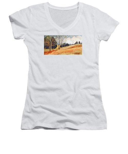 Switchboard Rd Women's V-Neck T-Shirt