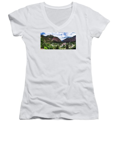 Switzerland Of America Women's V-Neck
