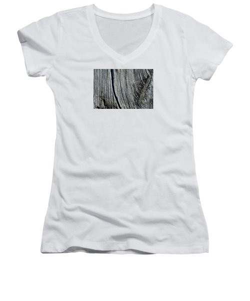 Women's V-Neck T-Shirt (Junior Cut) featuring the photograph Table Top  by Lyle Crump