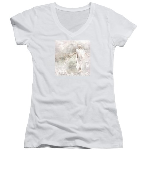 Take Me Home Women's V-Neck T-Shirt (Junior Cut) by Jacky Gerritsen