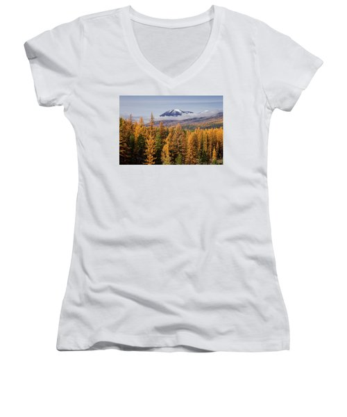 Tamarack Glory Women's V-Neck T-Shirt