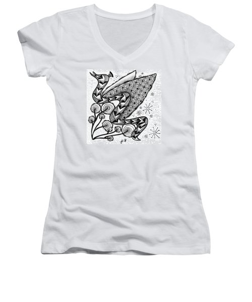 Tangled Serpent Women's V-Neck